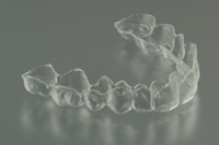 Display showing invisible braces